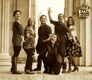 Group cropped Sepia with Logo